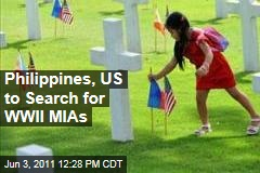 Philippines, US Will Search for World War II MIAs Together