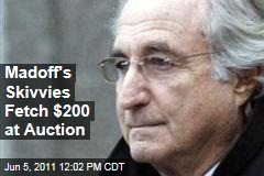 Bernard Madoff Auction: Collectors Scoop Up Underwear, Furniture, Diploma, More