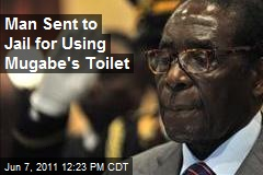 Man Sent to Jail for Using Mugabe's Toilet