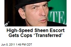 Inappropriate Charlie Sheen Police Escort Gets Officers 'Transferred' in Washington, DC