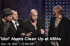 'Idol' Alums Clean Up at AMAs