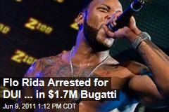 Rapper Flo Rida charged with DUI in Miami Beach