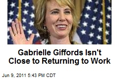 Gabrielle Giffords Isn't Close to Returning to Work