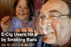 E-Cig Users Hit By Smoking Bans