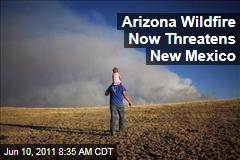 Arizona's Wallow Wildfire Now Threatens New Mexico