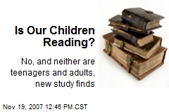 Is Our Children Reading?