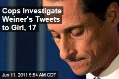 Anthony Weiner Messaged Teen Girl, Cops Investigating