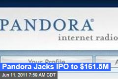 Pandora IPO: Internet Radio Company Jacks Public Offering to $161M