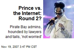 Prince vs. the Internet: Round 2?