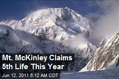 Mt. McKinley Claims 5th Life This Year