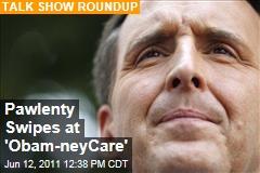 Tim Pawlenty Blasts Mitt Romney, 'Obam-newCare'