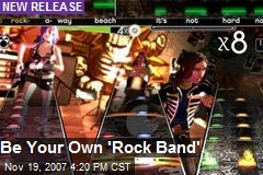 Be Your Own 'Rock Band'