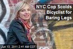 NYPD Scolds Dutch Biker for Baring Legs