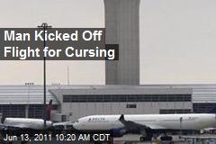 Man Kicked Off Flight for Cursing