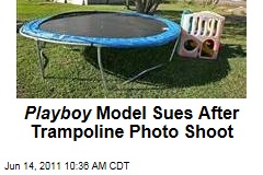 Playboy Model Denise Underhill Sues After Sexy Trampoline Photo Shoot