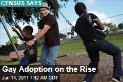 Census Data Shows: Gay Adoptions on the Rise