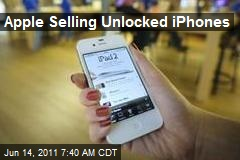 Apple Selling Unlocked iPhones