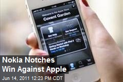 Nokia Notches Win Against Apple