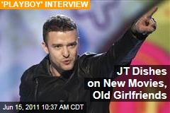Justin Timberlake Dishes on New Movies, Old Girlfriends in 'Playboy' Interview