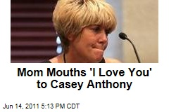 Casey Anthony Trial: Mom Mouths 'I Love You'; Tattoo Artist Recounts Casey's 'Beautiful Life' Ink