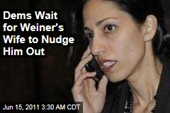 Democrats Hoping Wife Huma Abedin Will Persuade Anthony Weiner to Resign