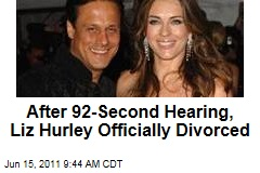 Elizabeth Hurley, Arun Nayar Officially Divorced