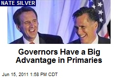Governors Have a Big Advantage in Primaries