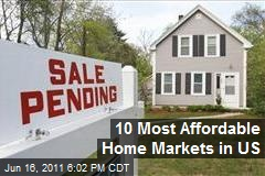 10 Most Affordable Home Markets in US
