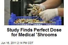 Study Finds Perfect Dose for Medical 'Shrooms