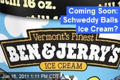 Coming Soon: Schweddy Balls Ice Cream?