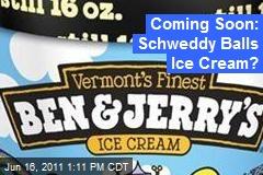 Coming Soon: Schweddy Balls Ice Cream?