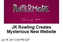 JK Rowling's Pottermore: Harry Potter Author Launces Mysterious New Website