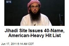 Jihad Site Issues 40-Name, American-Heavy Hit List
