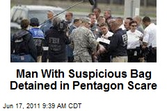 Man With Suspicious Bag Detained in Pentagon Scare