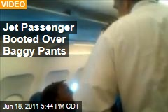 Video: College Football Player Deshon Williams Booted Off US Airways Flight Over Baggy Pants