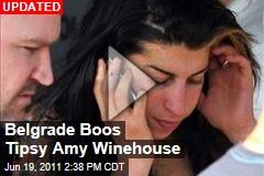 Drunk Amy Winehouse Booed at Belgrade Concert