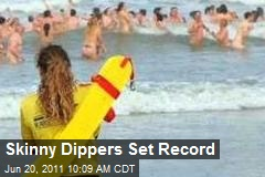 Skinny Dippers Set Record