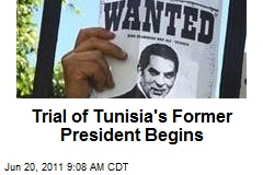 Trial of Tunisia's Former President Begins