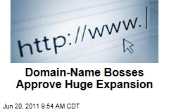 ICANN Approves Huge Expansion of Domain-Name Suffixes