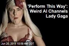 Weird Al Yankovic Channels Lady Gaga in 'Perform This Way' Music Video