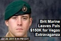 David Hart British Marine Killed in Afghanistan Leaves $150,000 for Friends' Las Vegas Vacation