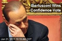 Berlusconi Wins Confidence Vote