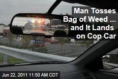 New York Man Tosses Marijuana Out of Car, Lands on Police Cruiser