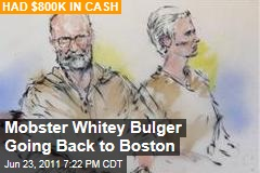 James Whitey Bulger and Catherine Greig Will Go Back to Boston to Face Charges