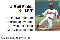 J-Roll Fields NL MVP