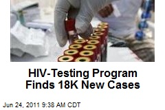 HIV-Testing Program Finds 18K New Cases