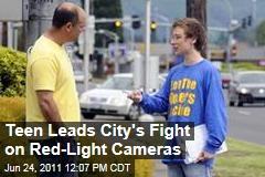 Washington Teen Josh Sutinen: Teen Seeking Signatures to Remove Traffic Cameras