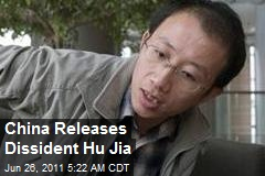 China Releases Dissident Hu Jia