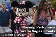 Street Performers Las Vegas: Celebrity Impersonators Fight for Tourism Tips