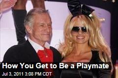 How You Get to Be a Playboy Playmate